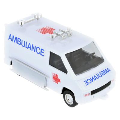Stavebnice Monti 06 Ambulance Renault Trafic 1:35