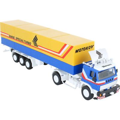 Stavebnice Monti 08.1 Kamion Liaz Special Turbo 1:48