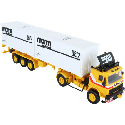 Stavebnice Monti System 08.2 Container Liaz 1:48