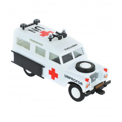 Stavebnice Monti 35 Unprofor Ambulance Land Rover 1:35
