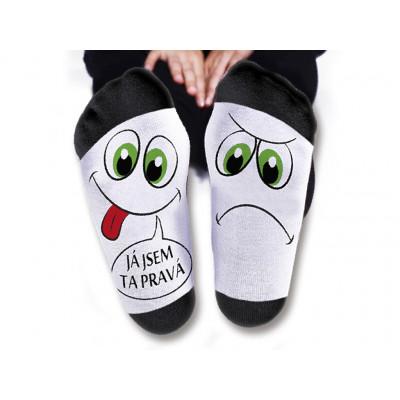 Pánské ponožky - Já jsem ta pravá - vel. 43-46