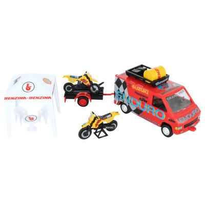 Stavebnice Monti System 49 Enduro Renault Trafic 1:35