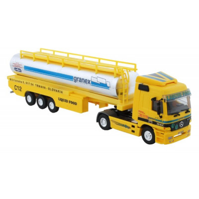 Stavebnice Monti System 55 Liguid Food Actros L-MB 1:48