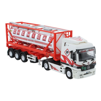 Stavebnice Monti System 60 Chemical Fluid Actros L-MB 1:48