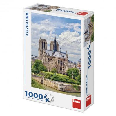 Dino Katedrála Notre-Dame puzzle 1000 dílků