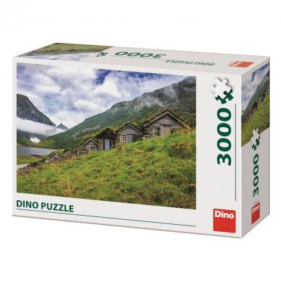 Dino Norangsdalen valley puzzle 3000 dílků