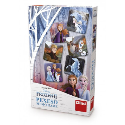 Dino Frozen II pexeso