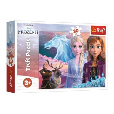 Trefl Puzzle Ledové království II/Frozen II 30 dílků