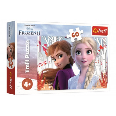 Trefl Puzzle Ledové království II/Frozen II 60 dílků