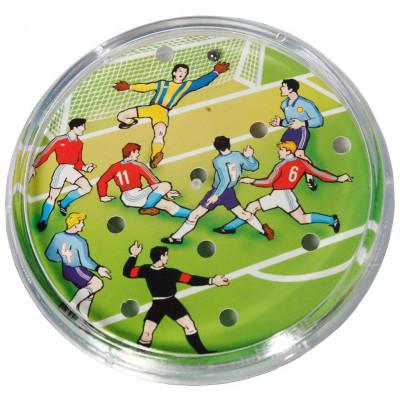 Směr Kopaná/Fotbal hra hlavolam plast průměr 9cm