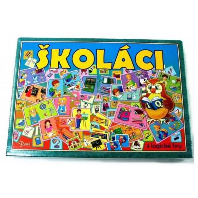 Školáci 4 logické hry