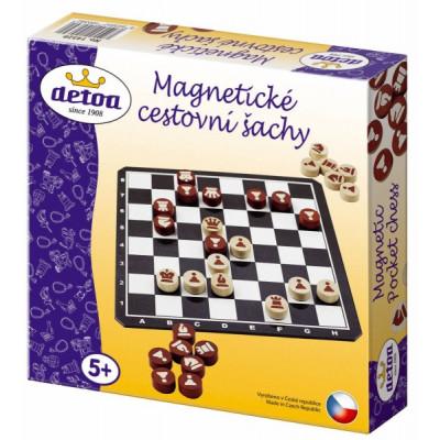 Detoa Magnetické cestovní šachy dřevěné