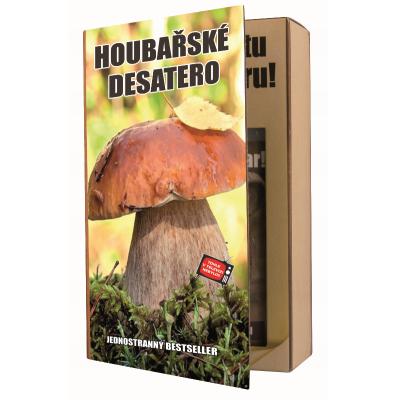 Dárková kosmetika - Kniha pro houbaře