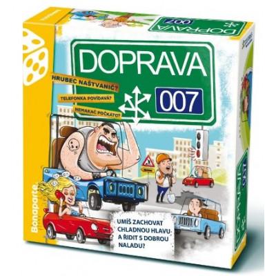 Bonaparte DOPRAVA 007 rodinná společenská hra