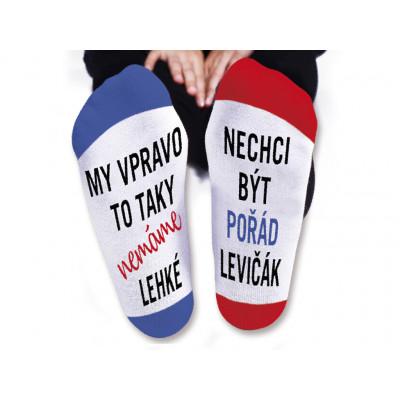 Dámské ponožky - Pořád levičák - vel. 39-42