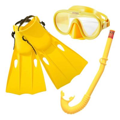 Intex 55655 Potápěčská sada brýle+šnorchl+ploutve 8+