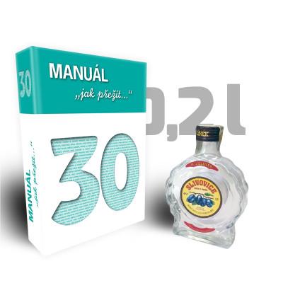 Léčivá kniha - 30, Manuál jak přežít třicítku