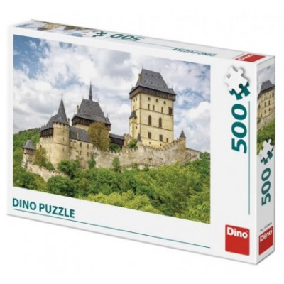 Dino hrad Karlštejn puzzle 500 dílků
