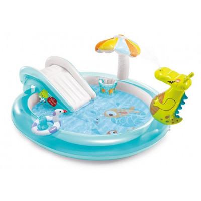 Intex 57165 Nafukovací hrací centrum krokodýl