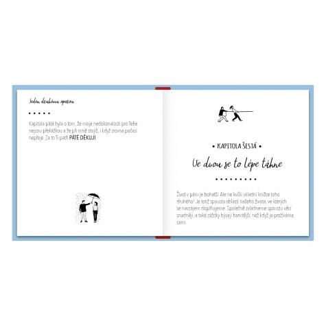 Perkman kniha pro partnera - Díky že tě mám
