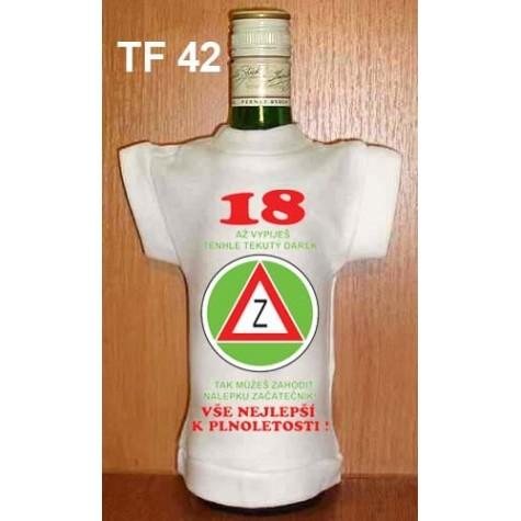 18 až vypiješ tento tekutý dárek
