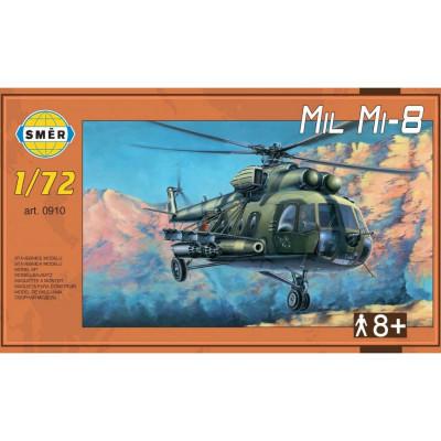 Směr Model vrtulník Mil Mi-8 1:72 25,5x29,5 cm