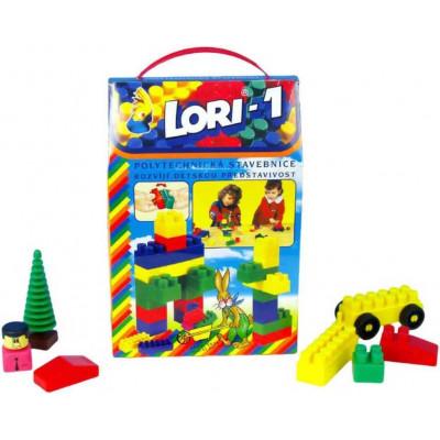 Stavebnice LORI 1 plast 50ks