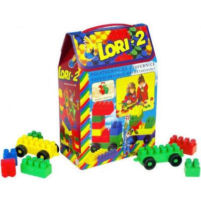 Stavebnice LORI 2 plast 35ks