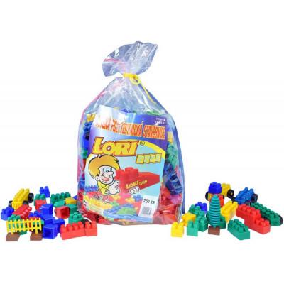 Stavebnice LORI 250 plast 250ks