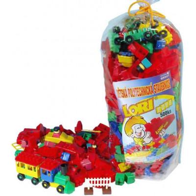 Stavebnice LORI 500 balení pro školky plast 500ks