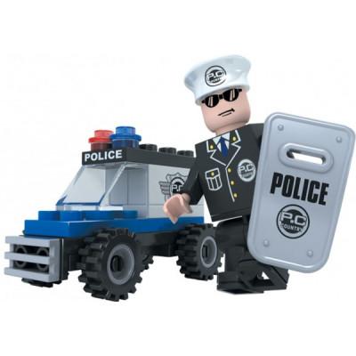 Stavebnice Dromader 23101 Policie Auto 33ks