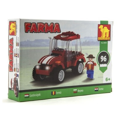 Stavebnice Dromader 28303 Farma 96ks