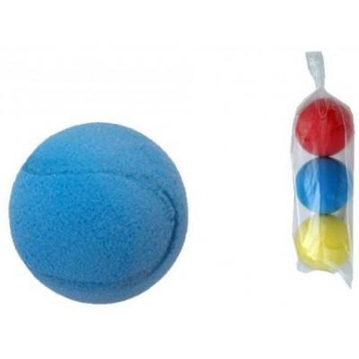 Soft míč na softtenis pěnový průměr 7cm 3ks