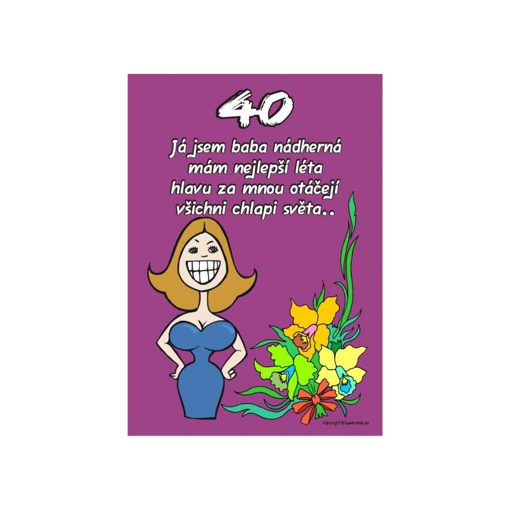 Certifikát - Já jsem baba nádherná 40
