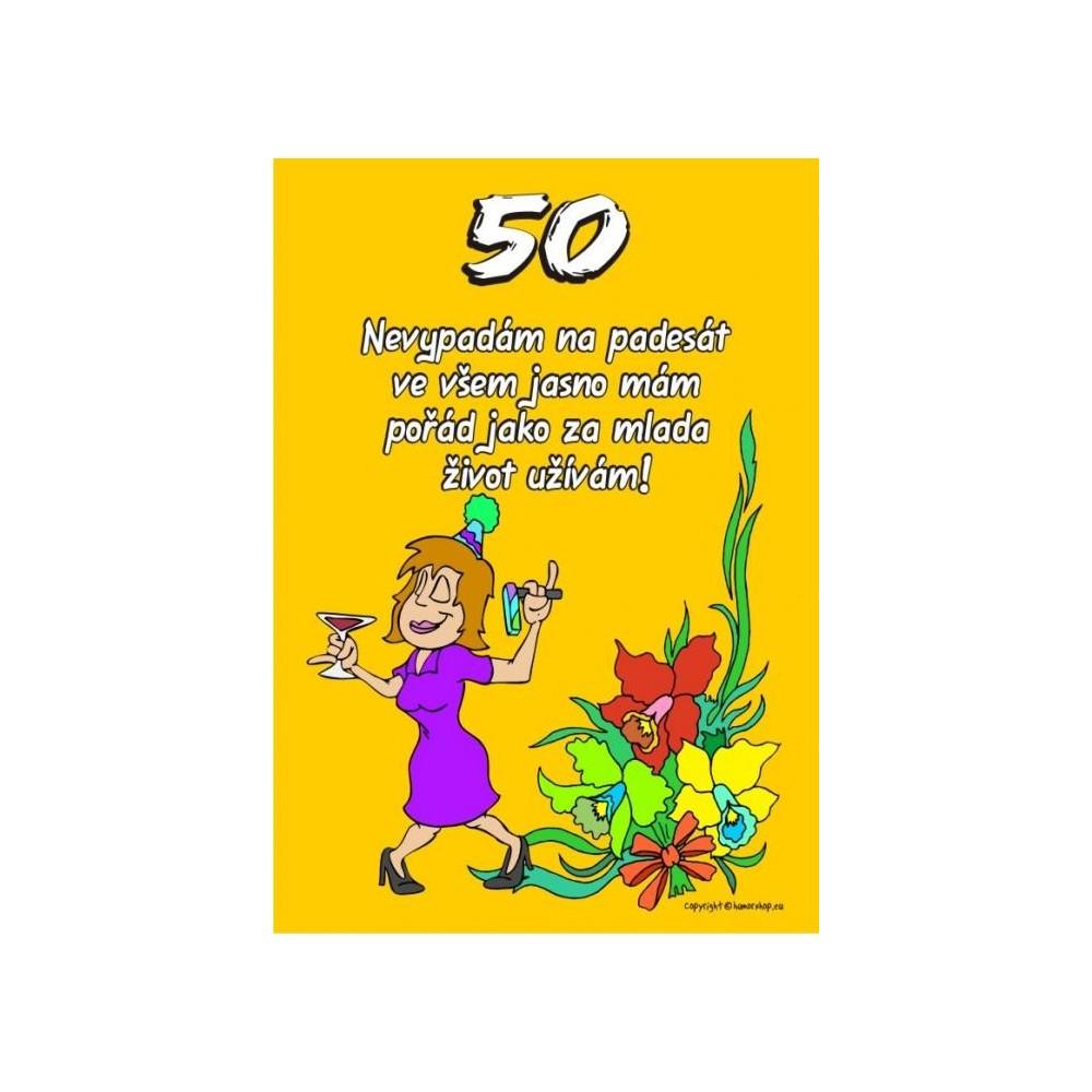 Certifikát - Nevypadám na padesát 50