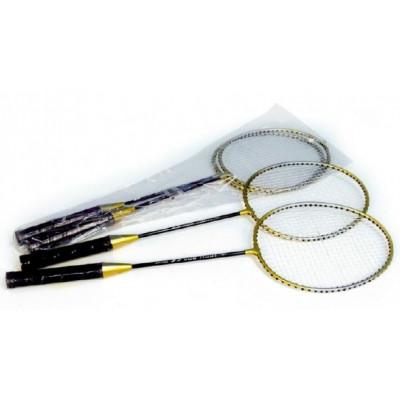 Badmintonová souprava kovová 2ks v sáčku 67x21cm