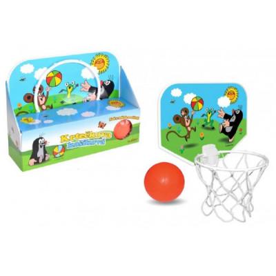 Wiky Koš na basketbal Krtek 33x22cm