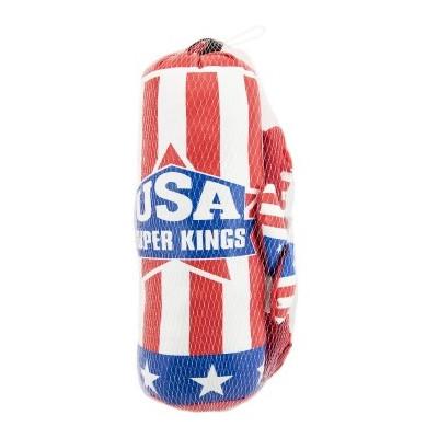 Boxovací pytel USA 10x33cm + rukavice