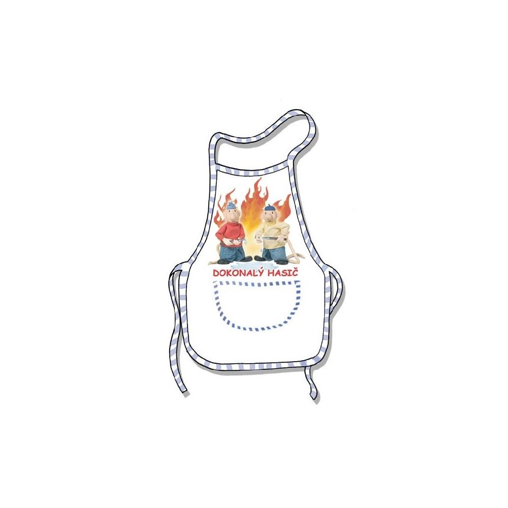 Zástěra - Dokonalý hasič