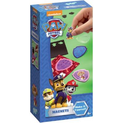 Kreativní sada Paw Patrol/Tlapková patrola v krabičce - Vyrob si magnety