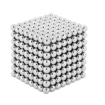 Neocube 5mm 512ks - stříbrné