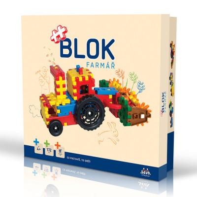 Vista Stavebnice Blok Farmář plast 172ks