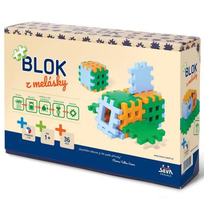 Seva Stavebnice Blok z melásky 36ks