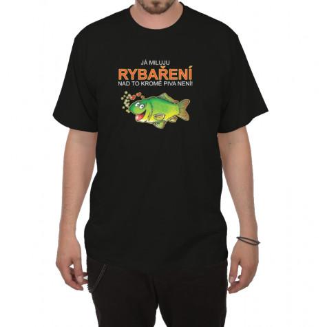 Tričko - Já miluju rybaření