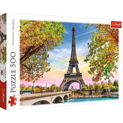 Trefl Puzzle Romantická Paříž 500 dílků