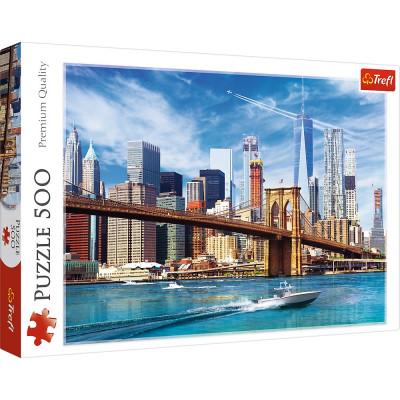 Trefl Puzzle Výhled na New York 500 dílků