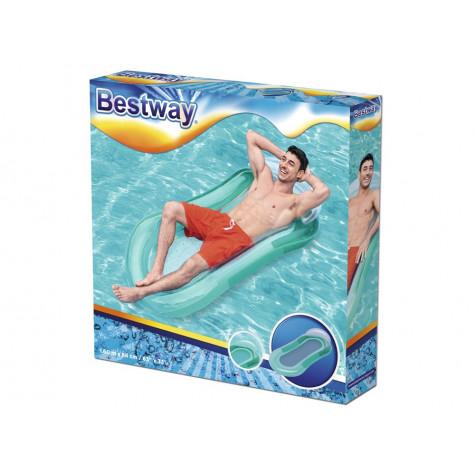 Bestway 43103 Nafukovací lehátko Aqua Lounge 160 x 84 cm - tyrkysové