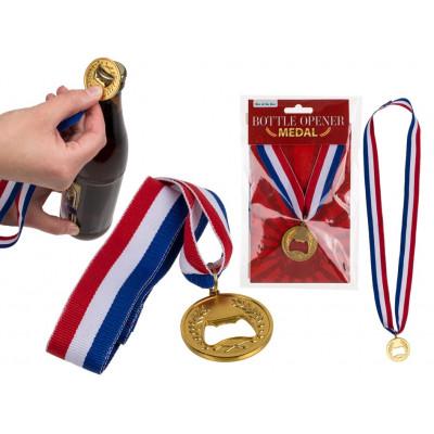 Zlatá medaile - otvírák