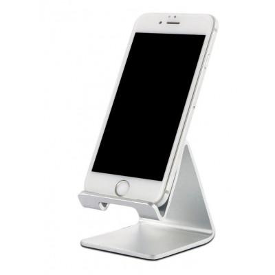 Držák na mobil - stříbrný