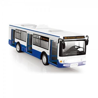 Rappa Autobus česky hlásící zasávky 28cm modrý